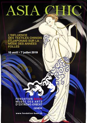 Asia chic<br>L'influence des textiles chinois et japonais sur la mode des Ann&eacute;es folles