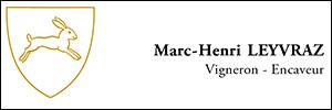 M. Marc-Henri LEYVRAZ, vigneron-encaveur à Rivaz